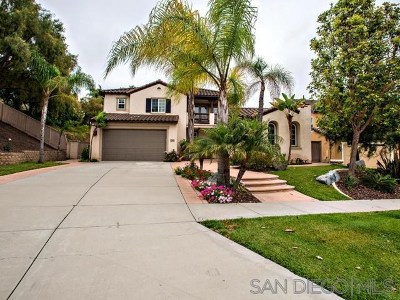 Chula Vista Single Family Home For Sale: 2860 South Compass Circle