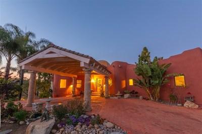 La Mesa Single Family Home For Sale: 4221 Camino Alegre