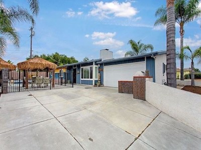 Vista Single Family Home For Sale: 435 Lado De Loma Dr