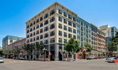 San Diego Condo/Townhouse For Sale: 445 Island Ave #504