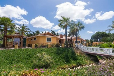 La Mesa Single Family Home For Sale: 10807 Trent Way