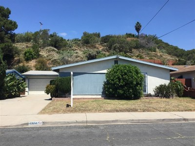 San Diego Single Family Home For Sale: 5174 Streamview Dr