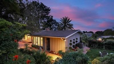 Del Mar Single Family Home For Sale: 757 Hoska Drive