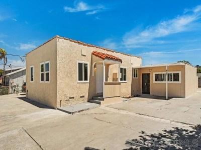 El Cajon Multi Family Home For Sale: 825 W Washington