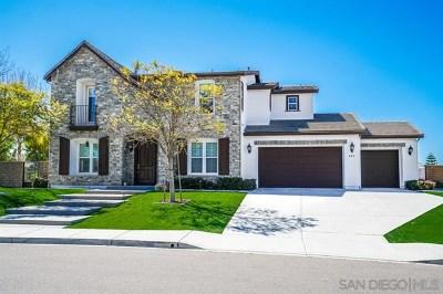 Chula Vista Single Family Home For Sale: 606 Via Porlezza
