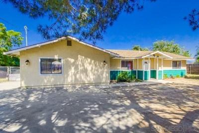 El Cajon Single Family Home For Sale: 1120 La Cresta Blvd