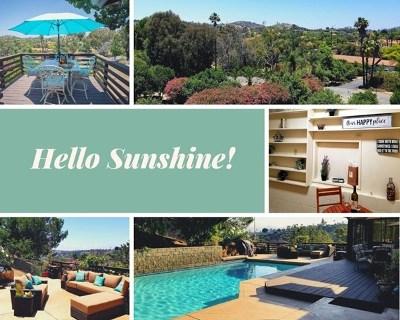 Escondido Single Family Home For Sale: 20809 Viento Valle