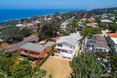 Del Mar Single Family Home For Sale: 2019 Cordero Rd.