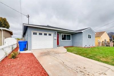 San Diego Single Family Home For Sale: 2925 Morningside St