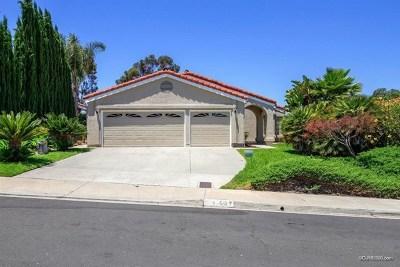 San Diego Single Family Home For Sale: 11637 Avenida Sivrita