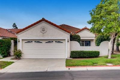 San Diego Single Family Home For Sale: 16025 Caminito Aire Puro