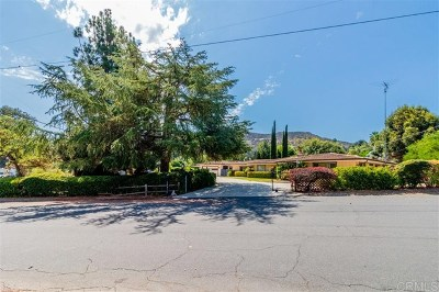 Poway Single Family Home For Sale: 12815 Indian Trail Rd