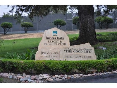 San Diego Country Estates Condo/Townhouse For Sale: 15659 Davis Cup