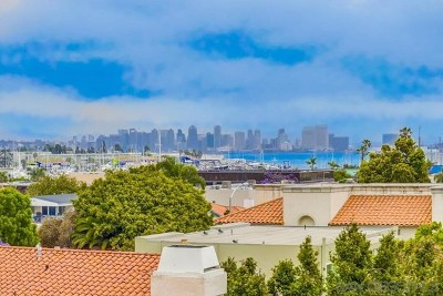 San Diego Condo/Townhouse For Sale: 1261 Evergreen St