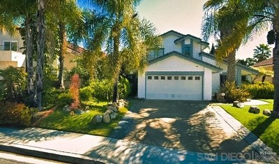 San Diego Single Family Home For Sale: 8975 January Pl