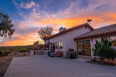Alpine Single Family Home For Sale: 6298 Juergens Vista