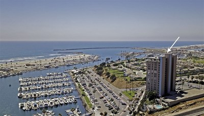 Oceanside Condo/Townhouse For Sale: 1200 Harbor Dr N #3C