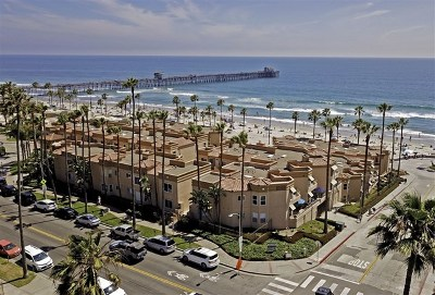 Oceanside Condo/Townhouse For Sale: 500 N The Strand #55