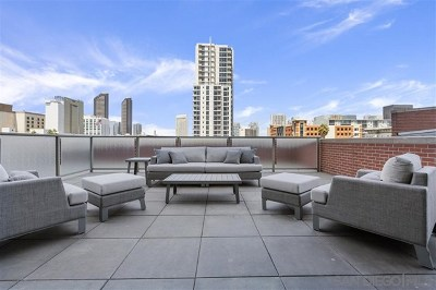 San Diego Condo/Townhouse For Sale: 800 The Mark Ln #301