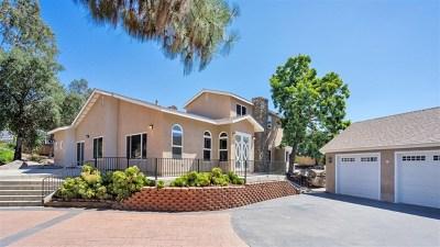 El Cajon Single Family Home For Sale: 1360 S Magnolia Ave
