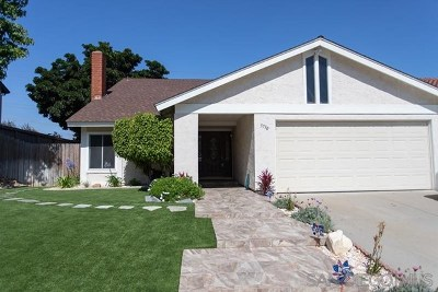 La Mesa Single Family Home For Sale: 3730 Avenida Johanna