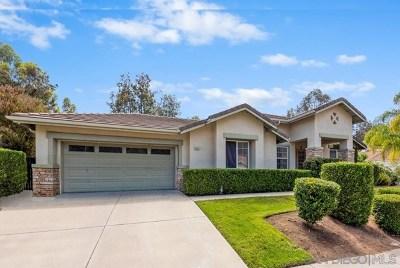 Escondido Single Family Home For Sale: 1502 Knoll Park Glen