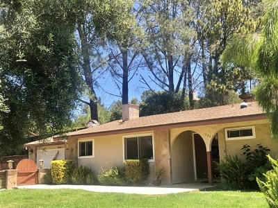 Vista Single Family Home For Sale: 1532 York Drive