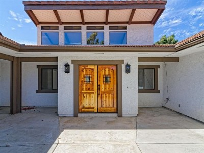 Fallbrook Single Family Home For Sale: 39080 Daily Rd.