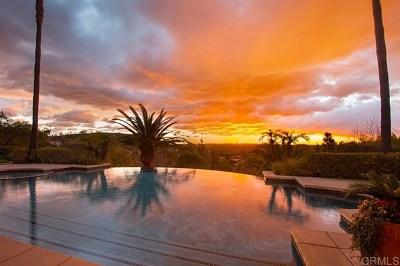 Encinitas Single Family Home For Sale: 3302 Lilac Smt