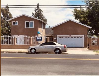 El Cajon Single Family Home For Sale: 593 E Madison Ave.