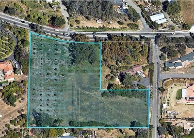 Fallbrook Residential Lots & Land For Sale: Hamilton Lane