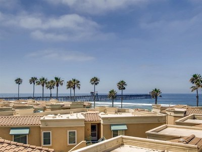 Oceanside Condo/Townhouse For Sale: 500 N The Strand #39