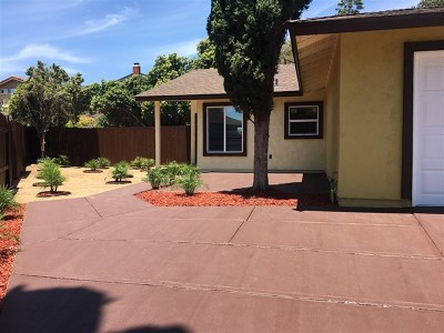 San Diego Single Family Home For Sale: 10238 Autumnview Ln