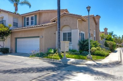 Carlsbad Condo/Townhouse For Sale: 1611 Brome Ct