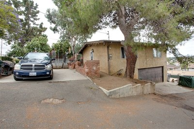Vista Multi Family Home For Sale: 650 Hillside Terrace