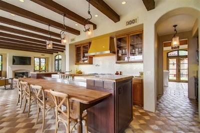 Rancho Santa Fe Single Family Home For Sale: 7747 Camino De Arriba