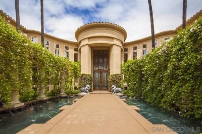 Rancho Santa Fe Single Family Home For Sale: 16128 Rambla Del Las Flores