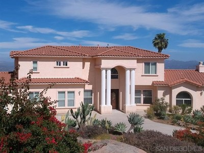 El Cajon Single Family Home For Sale: 146 Lathrop Ln