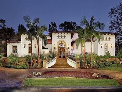 Rancho Santa Fe Single Family Home For Sale: 17267 Calle Mayor