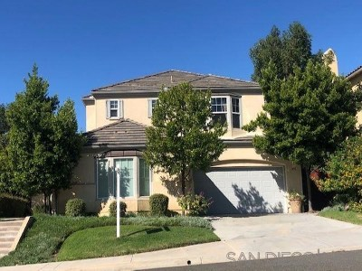 San Marcos Single Family Home For Sale: 1490 Anchor Pl