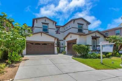 San Diego Single Family Home For Sale: 3936 Lago Di Grata Cir
