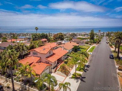 San Diego Single Family Home For Sale: 4407 Del Mar Ave