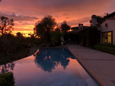 Rancho Santa Fe Single Family Home For Sale: 18380 Calle La Serra