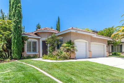 Temecula Single Family Home For Sale: 43639 Tirano Dr