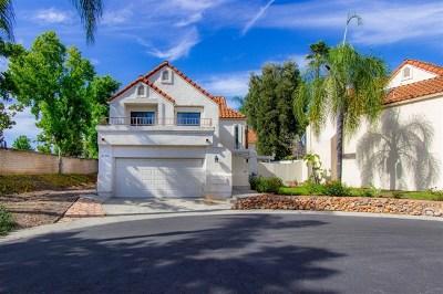 Escondido Single Family Home For Sale: 2174 Villa Sonoma Glen