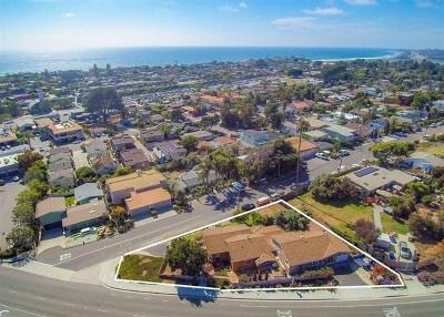 Solana Beach Single Family Home For Sale: 120 N Granados Ave