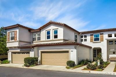 Carlsbad Condo/Townhouse For Sale: 6471 Kingbird Ln