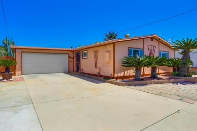 San Diego Single Family Home For Sale: 3848 Boone St.