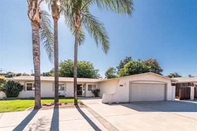 Escondido Single Family Home For Sale: 2953 Laurashawn Ln