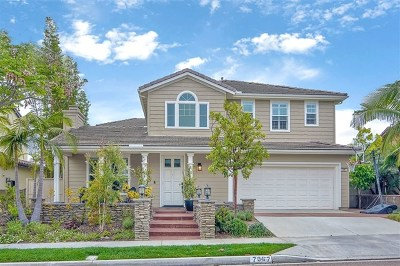Carlsbad Single Family Home For Sale: 7067 Rose Dr.